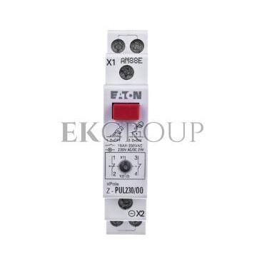 Przycisk modułowy 16A 2R z lampką sygnalizacyjną Z-PUL230/OO 276299-134475
