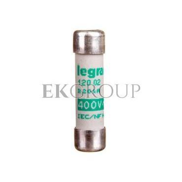 Wkładka bezpiecznikowa cylindryczna 8x32mm 2A aM 400V 012002-136654