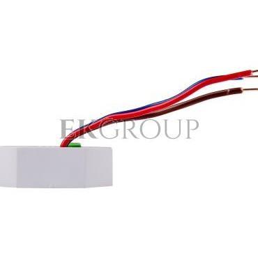 Ściemniacz przyciskowy z pamięcią 0-350VA szary SCO-802-135637