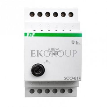 Ściemniacz przycisk szary 0-1000VA 230V SCO-814-135645
