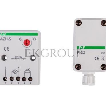 Automat zmierzchowy 16A 230V 2-1000lx obudowa AZH-S-PLUS-143456