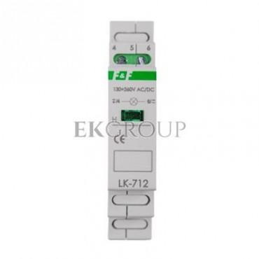 Lampka modułowa zielona 130-260V AC/DC LK-712G-133441