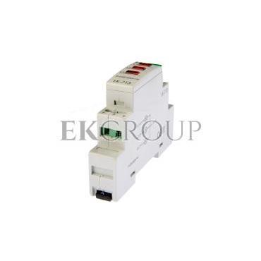 Lampka modułowa 3-fazowa czerwona 3x230V N AC LK-713R-133449