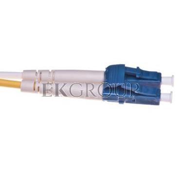 Kabel krosowy światłowodowy LCduplex SM PC OS1 5m 21.99.8785-150300