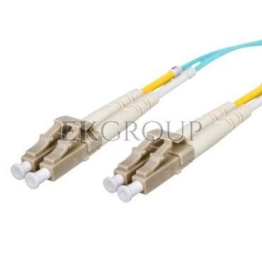 Kabel krosowy światłowodowy LCduplex MM PC OM3 50um 2m 21.99.8702-150301