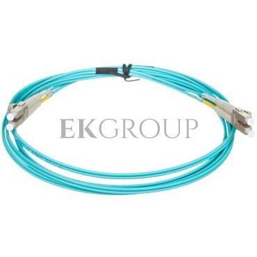 Kabel krosowy światłowodowy LCduplex MM PC OM3 50um 2m 21.99.8702-150302