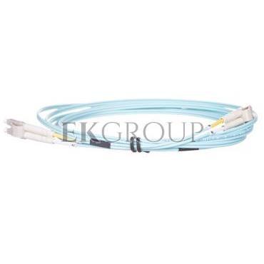 Kabel krosowy światłowodowy LCduplex MM PC OM3 50um 3m 21.99.8703-150546