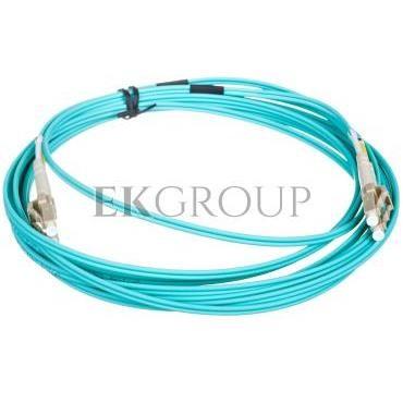 Kabel krosowy światłowodowy LCduplex MM PC OM3 50um 5m 21.99.8705-150307