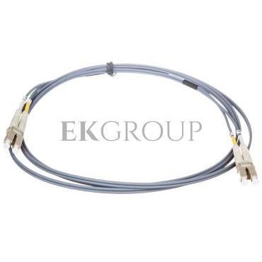 Kabel krosowy światłowodowy LCduplex MM PC OM2 50um 2m 21.99.9752-150593