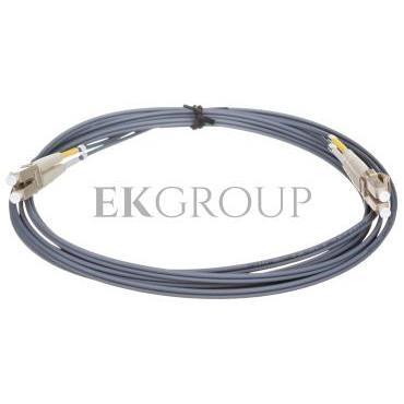 Kabel krosowy światłowodowy LCduplex MM PC OM2 50um 3m 21.99.9753-150548