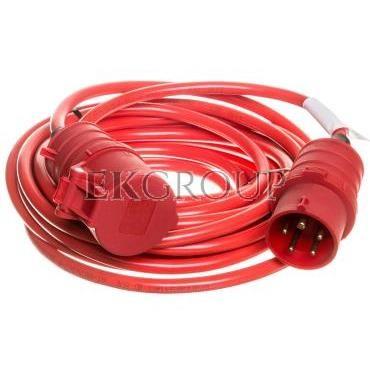 Kabel przedłużajacy (przedłużacz) Super-Solid IP44 10m CEE 400V/16A czerwony AT-N07V3V3-F 5G1,5 1168580-149312