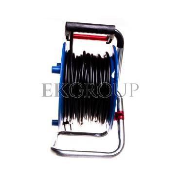 Przedłużacz bębnowy Garant 25m 4x230V H05VV-F 3G1,5 czarny 1218054-148860