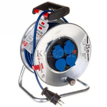 Przedłużacz bębnowy Garant S IP 44 Super-Solid 25m 4x230V AT-N05V3V3-F 3G1,5 niebieski 1199854-148812