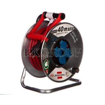 Przedłużacz bębnowy Garant S IP44 Super-Solid 40m 4x230V AT-N05V3V3-F 3G1,5 czerwony1199844-148813