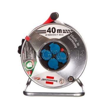 Przedłużacz bębnowy Garant S IP44 Super-Solid 40m 4x230V AT-N05V3V3-F 3G1,5 czerwony1199844-148814