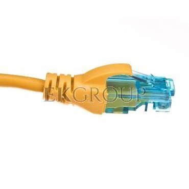 Kabel krosowy (Patch Cord) U/UTP kat.5e żółty 1m DK-1512-010/Y-150319