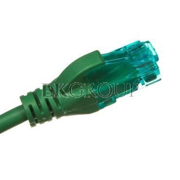 Kabel krosowy (Patch Cord) U/UTP kat.5e zielony 2m DK-1512-020/G-150320