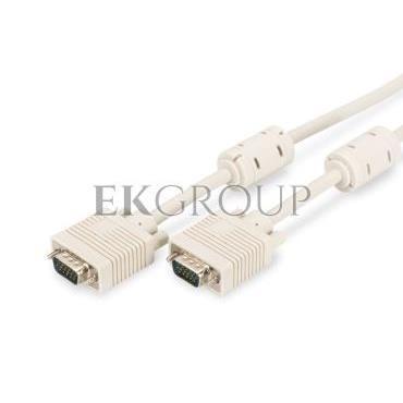 Kabel połączeniowy VGA Typ DSUB15/DSUB15, M/M beżowy 10m AK-310103-100-E-148072