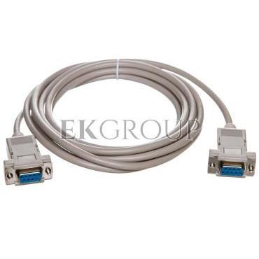 Kabel połączeniowy RS232 null-modem Typ DSUB9/DSUB9, Ż/Ż beżowy 3m AK-610100-030-E-148092