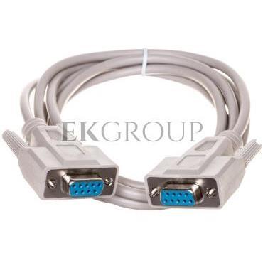 Kabel połączeniowy RS232 1:1 Typ DSUB9/DSUB9, Ż/Ż beżowy 2m AK-610106-020-E-148093