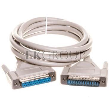 Kabel przedłużający LPT 1:1 Typ DSUB25/DSUB25, M/Ż beżowy 2m AK-610201-020-E-148103