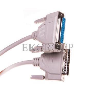 Kabel przedłużający LPT 1:1 Typ DSUB25/DSUB25, M/Ż beżowy 3m AK-610201-030-E-148106