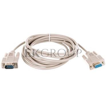 Kabel przedłużający RS232 1:1 Typ DSUB9/DSUB9, M/Ż beżowy 3m AK-610203-030-E-148113