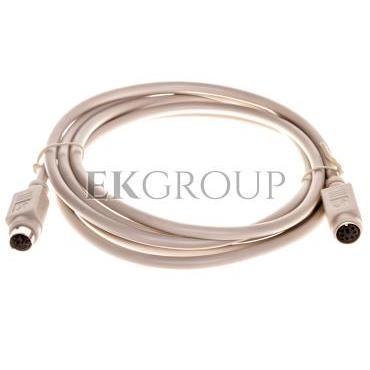 Kabel przedłużający PS/2 Typ miniDIN6/miniDIN6, M/Ż beżowy 2m AK-590200-020-E-148544