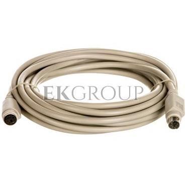 Kabel przedłużający PS/2 Typ miniDIN6/miniDIN6, M/Ż beżowy 5m AK-590200-050-E-148121