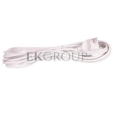 Przedłużacz 1-gniazdo z/u 10m /H05VV-F 3x1/ biały P0110-148937