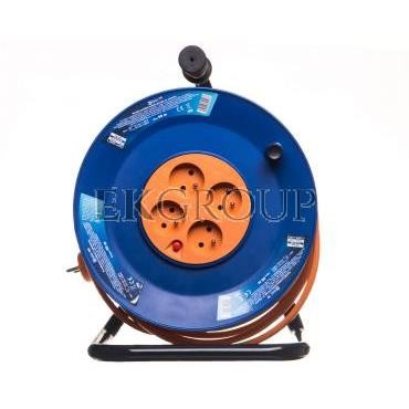 Przedłużacz bębnowy 4-gniazda z/u 50m H05VV-F 3G1,5 P19450-148953