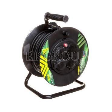 Przedłużacz bębnowy 4-gniazda z/u 25m H05RR-F 3G1,5 IP44 P084251-148956