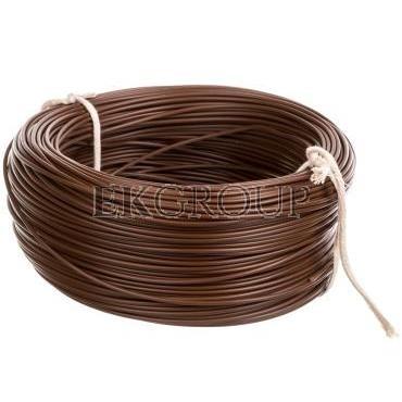 Przewód instalacyjny H05V-K (LgY) 0,75 brązowy /100m/-146336