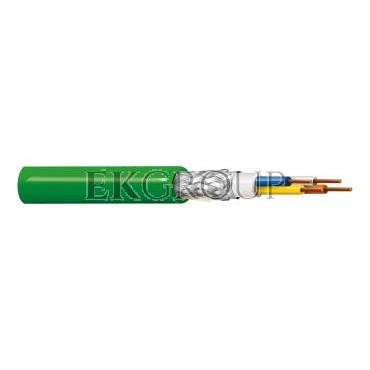 Kabel PROFINET 4x22AWG kat.5e PVC drut zielony BL-70006E.01B100 /100m/-150355