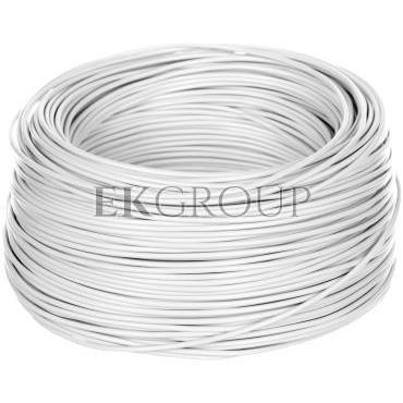 Przewód instalacyjny H05V-K (LgY) 0,75 biały /100m/-146796