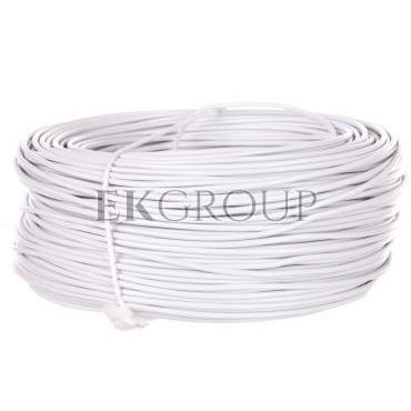 Przewód instalacyjny H05V-K (LgY) 1 biały /100m/-146816