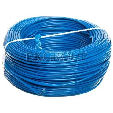 Przewód instalacyjny H05V-K (LgY) 1 niebieski /100m/-146817