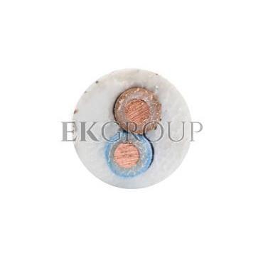 Przewód YDY 2x1 biały 450/750V /100m/-146891