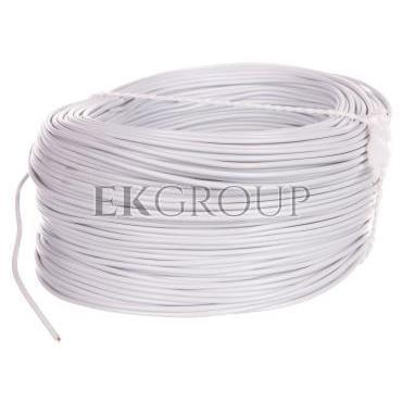 Przewód instalacyjny H05V-K (LgY) 0,5 biały /100m/-146918