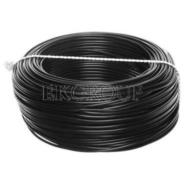 Przewód instalacyjny H05V-K (LgY) 1 czarny /100m/-146926