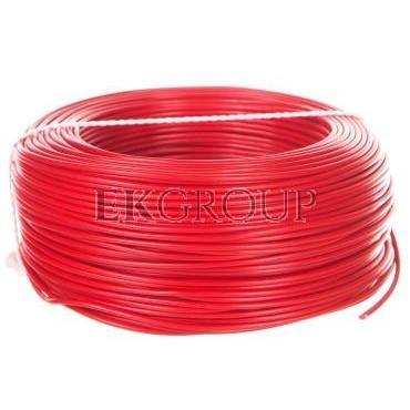 Przewód instalacyjny H05V-K (LgY) 1 czerwony /100m/-146927