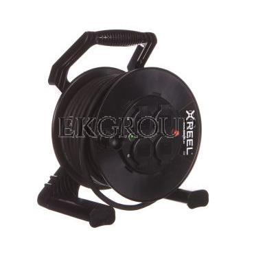 Przedłużacz bębnowy XREEL 30mb H05RR-F 3x2,5 IP44 4xGS 230V 92501H48263-149087
