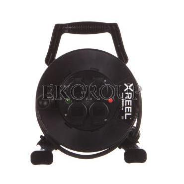 Przedłużacz bębnowy XREEL 30mb H05RR-F 3x2,5 IP44 4xGS 230V 92501H48263-149088