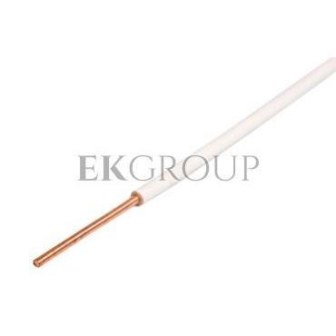 Przewód instalacyjny H05V-U (DY) 0,5 biały /100m/-147403
