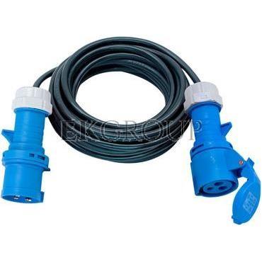 Kabel przedłużający (przedłużacz) IP44 10m CEE 230V/16A H07RN-F 3G2,5 1167650210-149318