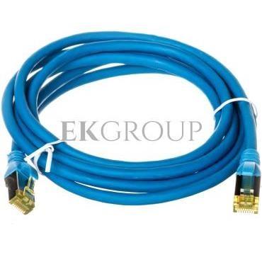 Kabel krosowy /Patch cord/ S/FTP kat.6A LS0H niebieski 2m DK-1644-A-020/B /2m/-150423