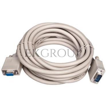 Kabel przedłużający SVGA Typ DSUB15/DSUB15, M/Ż beżowy 5m AK-310203-050-E-147893