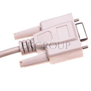 Kabel transmisyjny szeregowy RS232  Sub-D9 (F) - Sub-D9 (F) 1,8m-148007