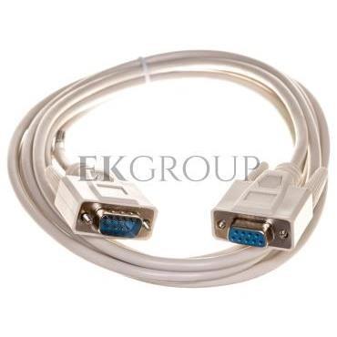 Kabel transmisyjny szeregowy RS232  Sub-D9 (F) - Sub-D9 (M) 3m-148194