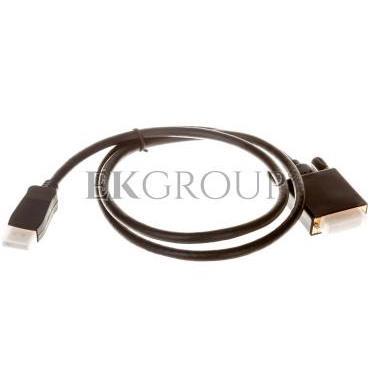 Kabel DisplayPort (M) - DVI-D (24 1) (M) DUAL LINK 1m-148158